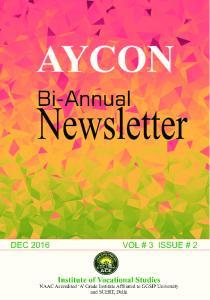 DEC 2016 VOL. # 3 ISSUE