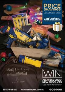 DECEMBER 2015 WIN ALL THESE GREAT. NEW PRODUCTS See inside for details