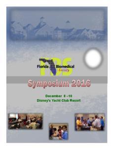 December 8 10 Disney s Yacht Club Resort