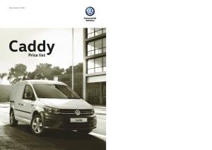 December Caddy. Price list
