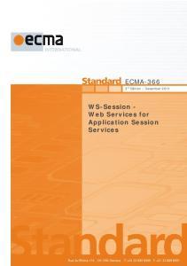 December Reference number ECMA-123:2009