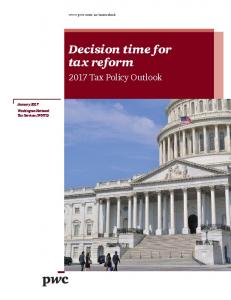 Decision time for tax reform