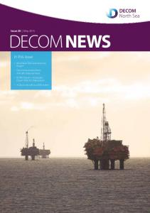 DECOM NEWS. In this issue. Issue 20 May 2015