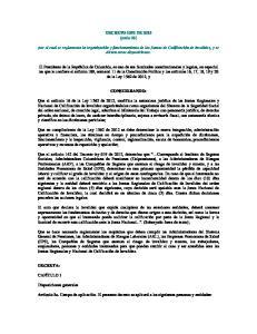 DECRETO 1352 DE 2013 (junio 26) CONSIDERANDO:
