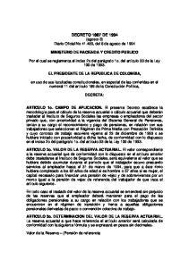 DECRETO 1887 DE 1994 (agosto 3) Diario Oficial No , del 8 de agosto de 1994