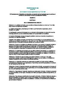 DECRETO 206 DE 1990 (enero 22) por el cualpor el cual se reglamenta la Ley 77 de 1989