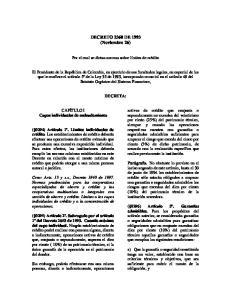 DECRETO 2360 DE 1993 (Noviembre 26)