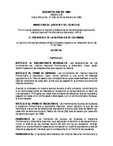 DECRETO 446 DE 1994 (febrero 24) Diario Oficial No , de 24 de febrero de 1994