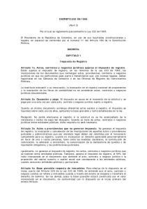 DECRETO 650 DE (Abril 3) Por el cual se reglamenta parcialmente la Ley 223 de 1995