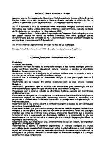 DECRETO LEGISLATIVO N o 2, DE 1994