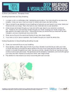 DEEP BREATHING & VISUALIZATION EXERCISES