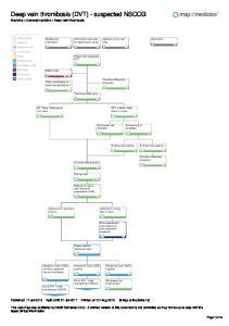 Deep vein thrombosis (DVT) - suspected NSCCG