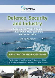 Defence, Security and Industry