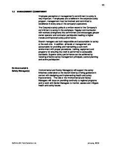 Definite Oil Field Services Ltd. January, 2010