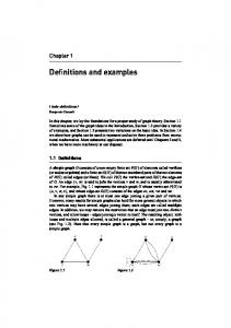 Definitions and examples