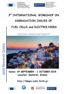 DEGRADATION ISSUES OF. FUEL CELLS and ELECTROLYSERS