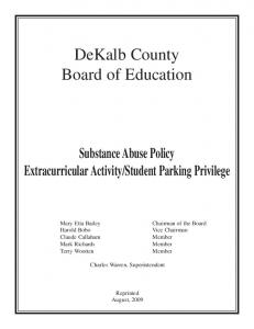 DeKalb County Board of Education