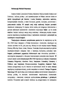 Deklaracja Polityki Erasmusa