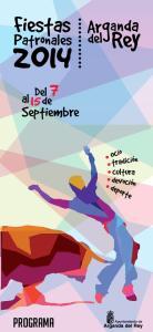 Del al 15 de. Septiembre. programa