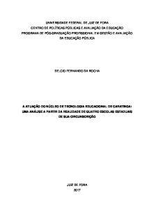 DELCIO FERNANDO DA ROCHA