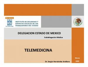 DELEGACION ESTADO DE MEXICO