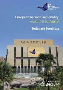 Delegate brochure Conference Sponsor