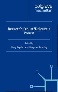 Deleuze s Proust