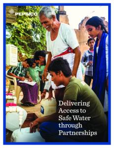 Delivering Access to Safe Water through Partnerships