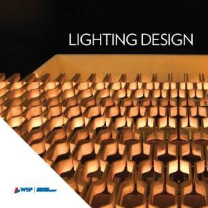 DELIVERING INSPIRED LIGHTING DESIGN SOLUTIONS