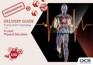 DELIVERY GUIDE Theme: Sports Psychology