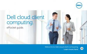Dell cloud client computing