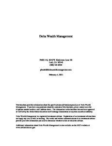 Delta Wealth Management