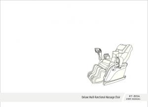 Deluxe Multi-functional Massage Chair RT-Z05A USER MANUAL