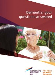 Dementia: your questions answered