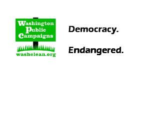 Democracy. Endangered