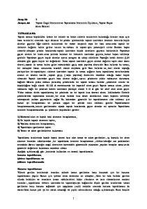 Deney No :3 Deneyin Adı :Toprak Özgül Direncinin ve Topraklama Direncinin Ölçülmesi, Toprak Kaçak Akım Röleleri