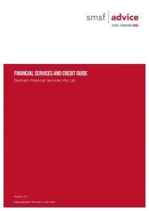 Denham Financial Services Pty Ltd