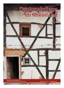 Denkmalpflege im Rheinland