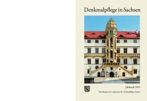 Denkmalpflege in Sachsen