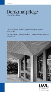 Denkmalpflege. in Westfalen-Lippe