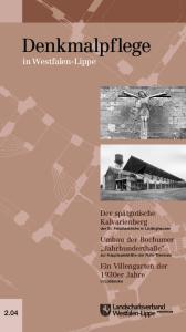 Denkmalpflege in Westfalen-Lippe