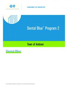 Dental Blue Program 2