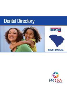 Dental Directory SOUTH CAROLINA