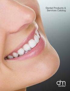 Dental Products & Services Catalog