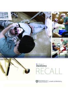 dentistry RECALL