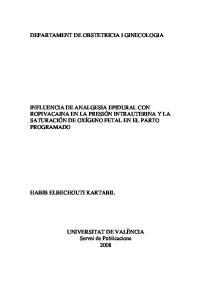 DEPARTAMENT DE OBSTETRICIA I GINECOLOGIA