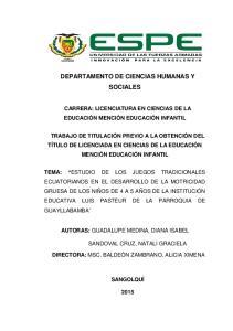 DEPARTAMENTO DE CIENCIAS HUMANAS Y SOCIALES