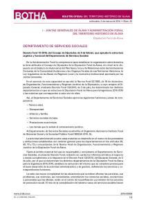 DEPARTAMENTO DE SERVICIOS SOCIALES