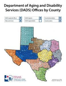Department of Aging and Disability Services (DADS) Offices by County