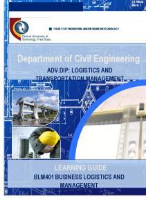 Department of Civil Engineering